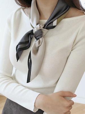 现代真丝围巾
