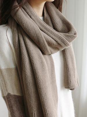 针织衫简单的披肩(5颜色)