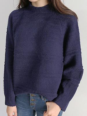 按半领针织衫(20%OFF)
