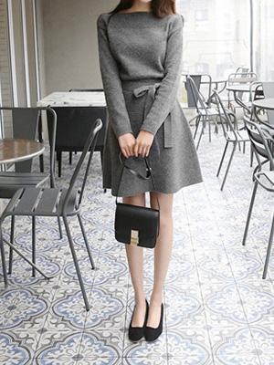 相针织衫连衣裙(20%折扣)