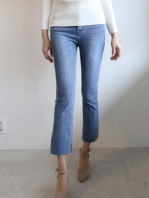 埃迪靴型裤短裤