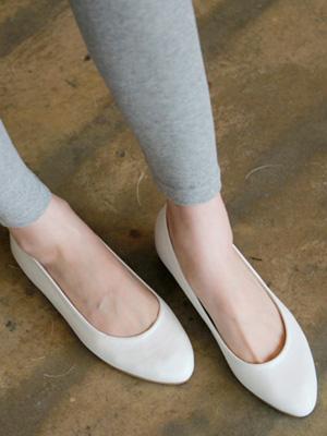 细纹平底鞋(1cm)(30%OFF)