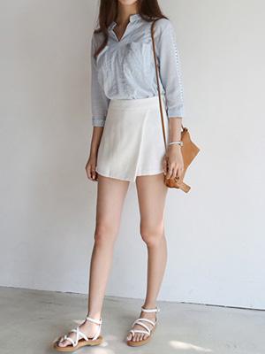 哎裙子短裤