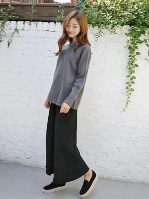 Daldal针织衫短裤(20%OFF)