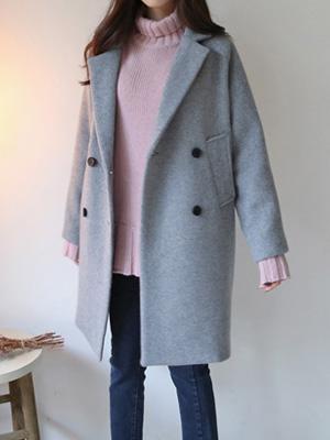 普通林呢子大衣