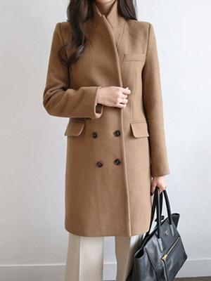 双治疗呢子大衣(免费,M)