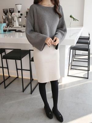 Deuren针织衫裙子(9颜色)