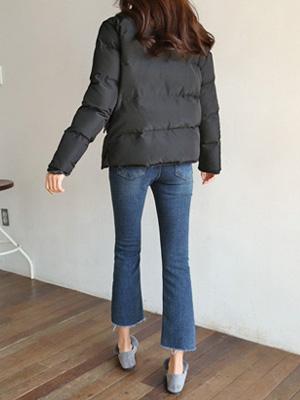 Jijen牛仔色靴型裤短裤(小号,中号,大号)(20%OFF)