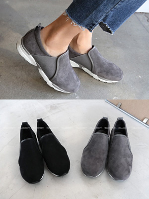 Terrier胶底帆布鞋(3cm)(30%OFF)