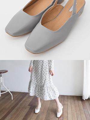 热尔露脚后跟鞋(2.5厘米)