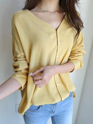Tani V领女女衬衫(20%折扣)