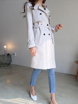 萨尔瓦多克洛斯风衣呢子大衣