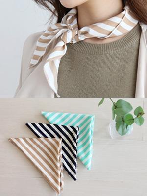 渡渡鸟条纹围巾
