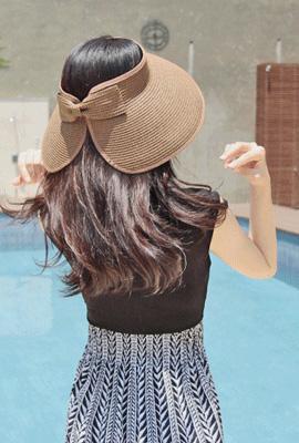 Doldolyi蝴蝶结帽子