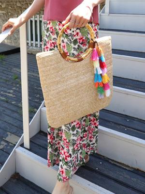竹桥球场手提包