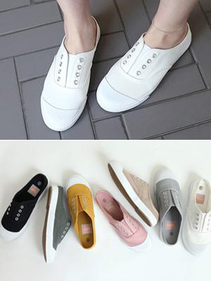 Vittor胶底帆布鞋骡子(30%OFF)