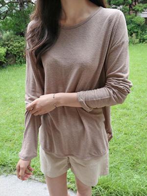 LETTIBY亚麻T恤衫(20%折扣)