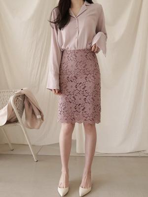 梗蕾丝裙子