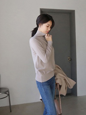 Myulri高领针织衫