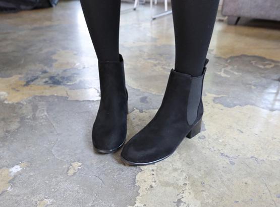 维罗英切尔西靴子(4.5厘米)