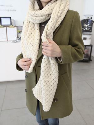 虎虎针织围巾