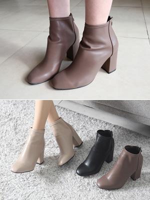 萨利赫踝靴子(6厘米包子鞋)