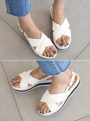 ★★拟合塔图X凉鞋(5厘米)(30%OFF)/225毫米