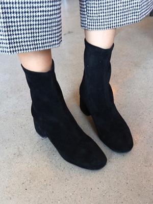 鲸鱼弹力踝靴子(5.5厘米)