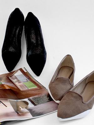 罗宾胶底帆布鞋(1.5厘米)(30%OFF)