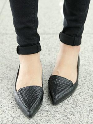 平头鞋(2cm)(50%OFF)