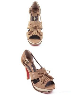 艾薇塔凉鞋(10厘米)(30%OFF)