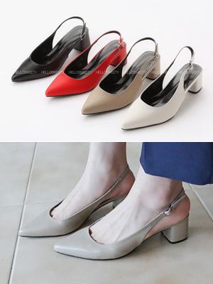 科尤库克露脚后跟鞋(5.5厘米)