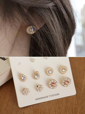 科林·耳环套装