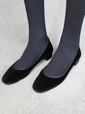 ★★拟合peteun丝绒平底鞋(30%OFF)/245毫米