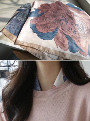 维娜花围巾