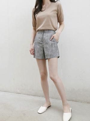 Redil亚麻短裤