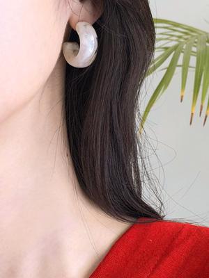 石头戒指耳环