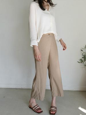 Bunon亚麻乐团短裤