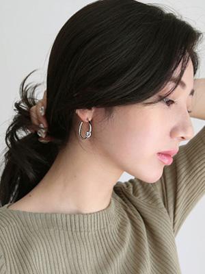 扭戒指耳环