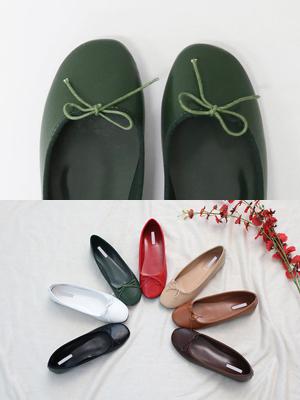 Toe蝶黄油结扁鞋(1cm)