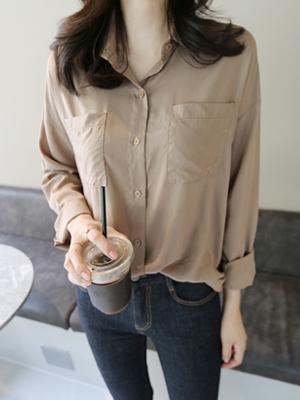 Arun口袋衬衫(5种面色)