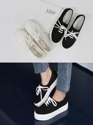 Solon胶底帆布鞋(3.5厘米)