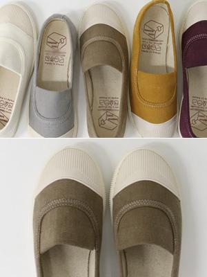 Kuze胶底帆布鞋(2cm)