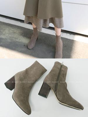 梅赛德斯奔驰毛踝鞋(8cm)
