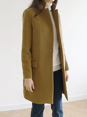 一个键H呢子大衣