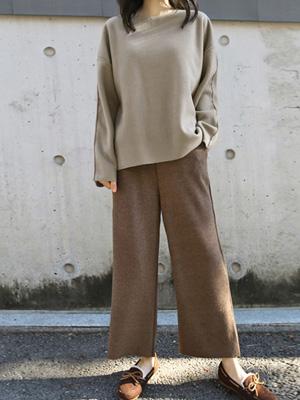 UZDU针织衫短裤