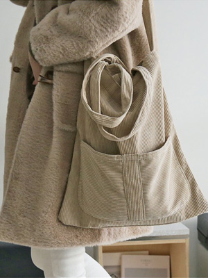 Boro灯芯绒环保袋