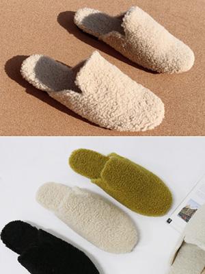 垂死的羊毛拖鞋(1cm)
