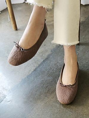 Rutie毛草草平底鞋(1cm)