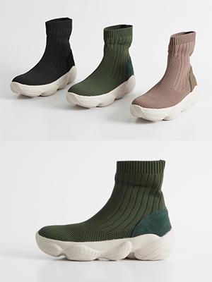 Monnis Sachs胶底帆布鞋(3.5cm)